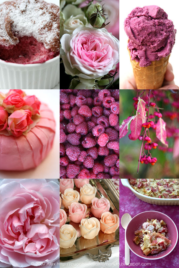 Collage rosa