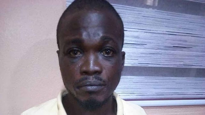 Man accused of extorting money from ladies he had sex with by blackmailing them with their nude photos, arrested in Lagos (photo)