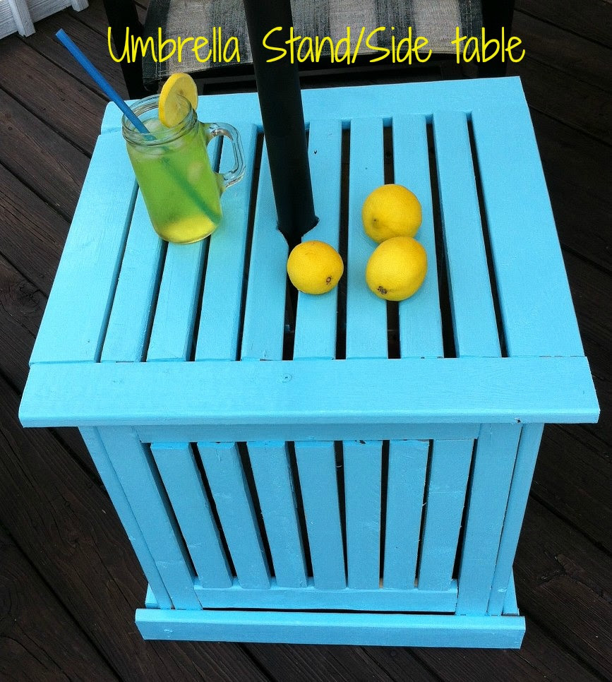 http://mominmusiccity.com/diy-patio-umbrella-standside-table/