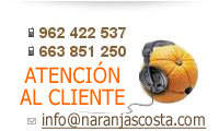 Naranjas Costa Atención al cliente