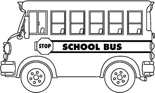 Bus Animado Para Colorear Wwwimagenesmycom