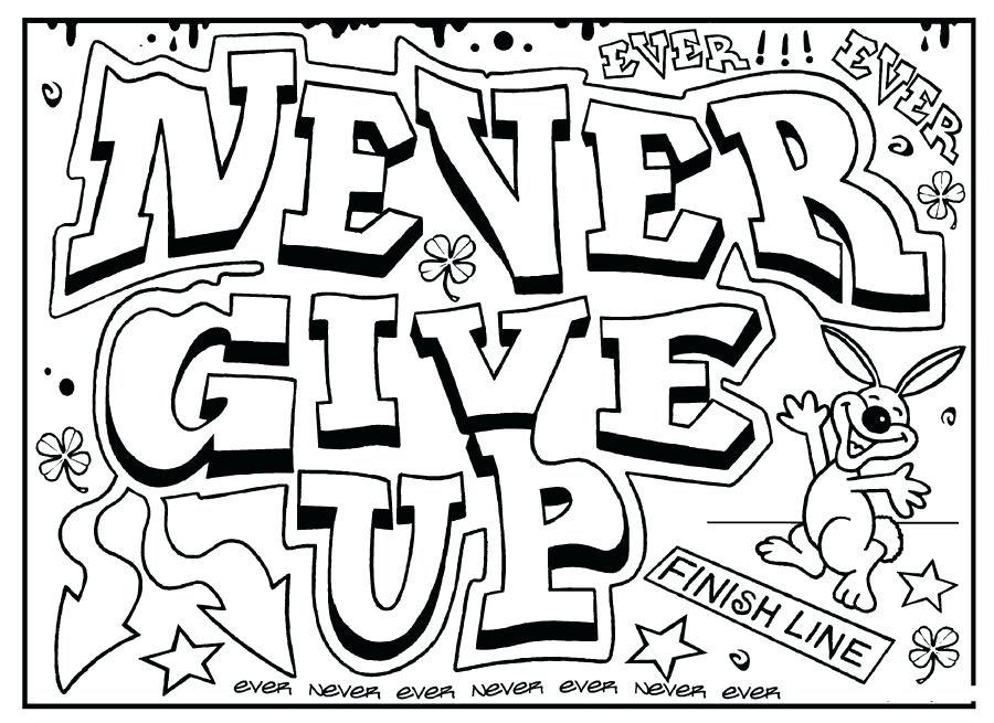 91 Colouring Pages For Adults Quotes For Free