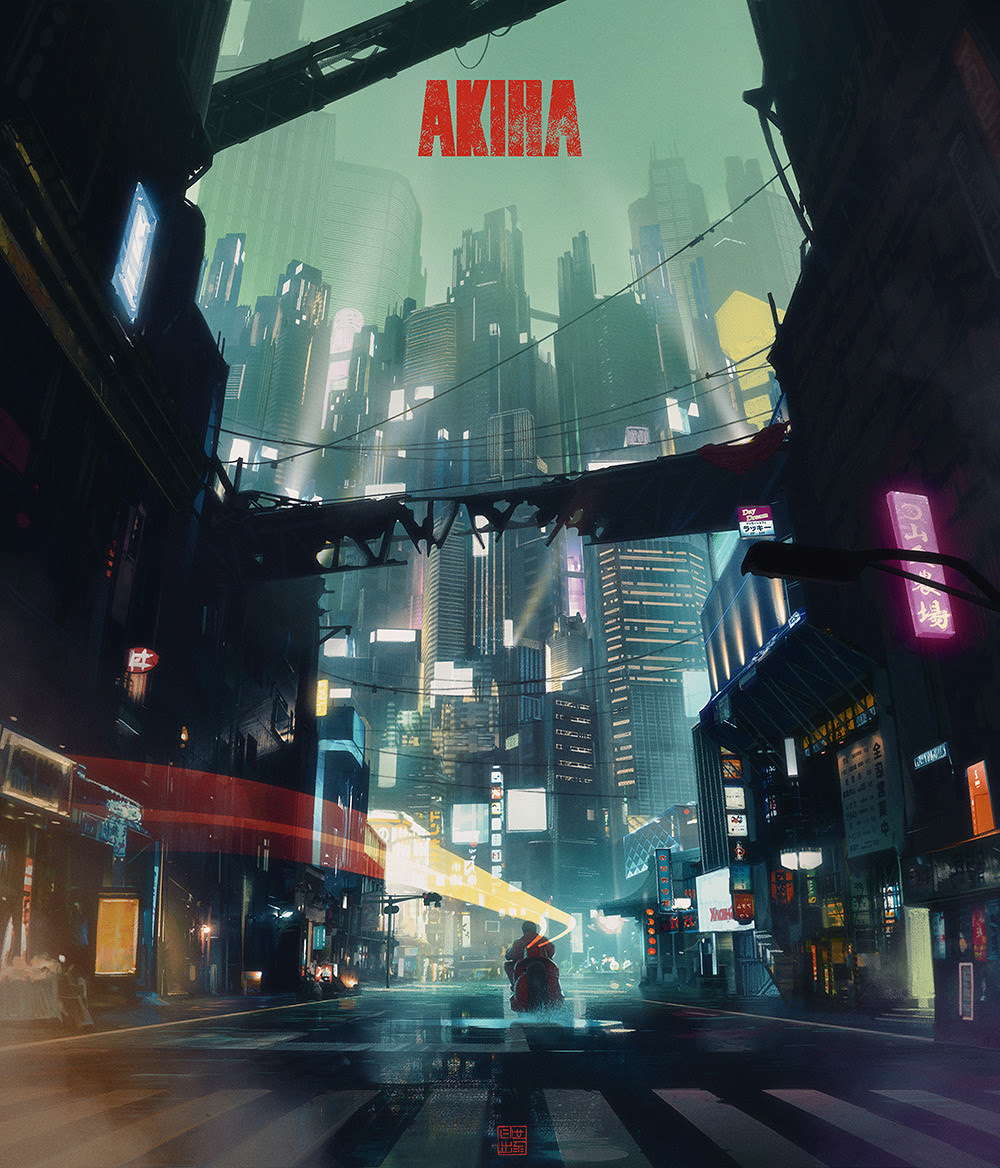 Akira Poster byLorenz Hideyoshi Ruwwe
