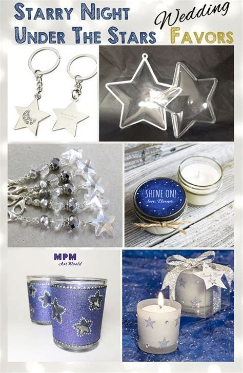 Under The Stars   Starry Night   Wedding Favors   Star