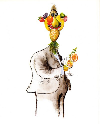 Winespeak - Full, fruity character - Ronald Searle