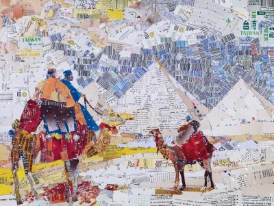 異國旅遊的印象也成為胡達華創作的靈感。