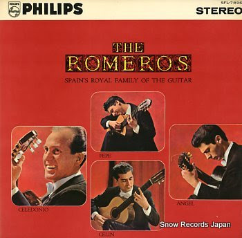 ROMEROS, THE spain's royal family of the guitar