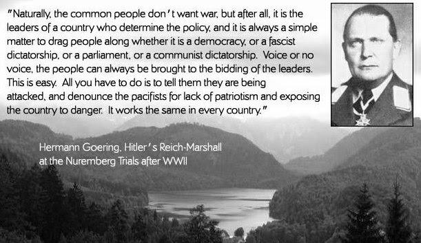 Hermann Göring on Patriotism and War