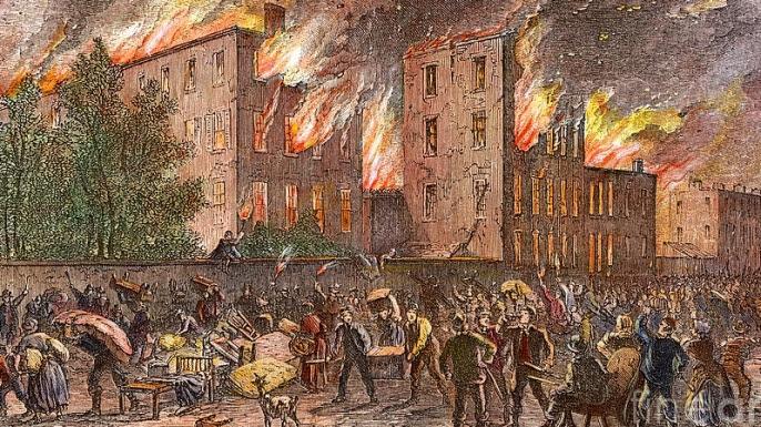 Resultado de imagen de Draft Riots