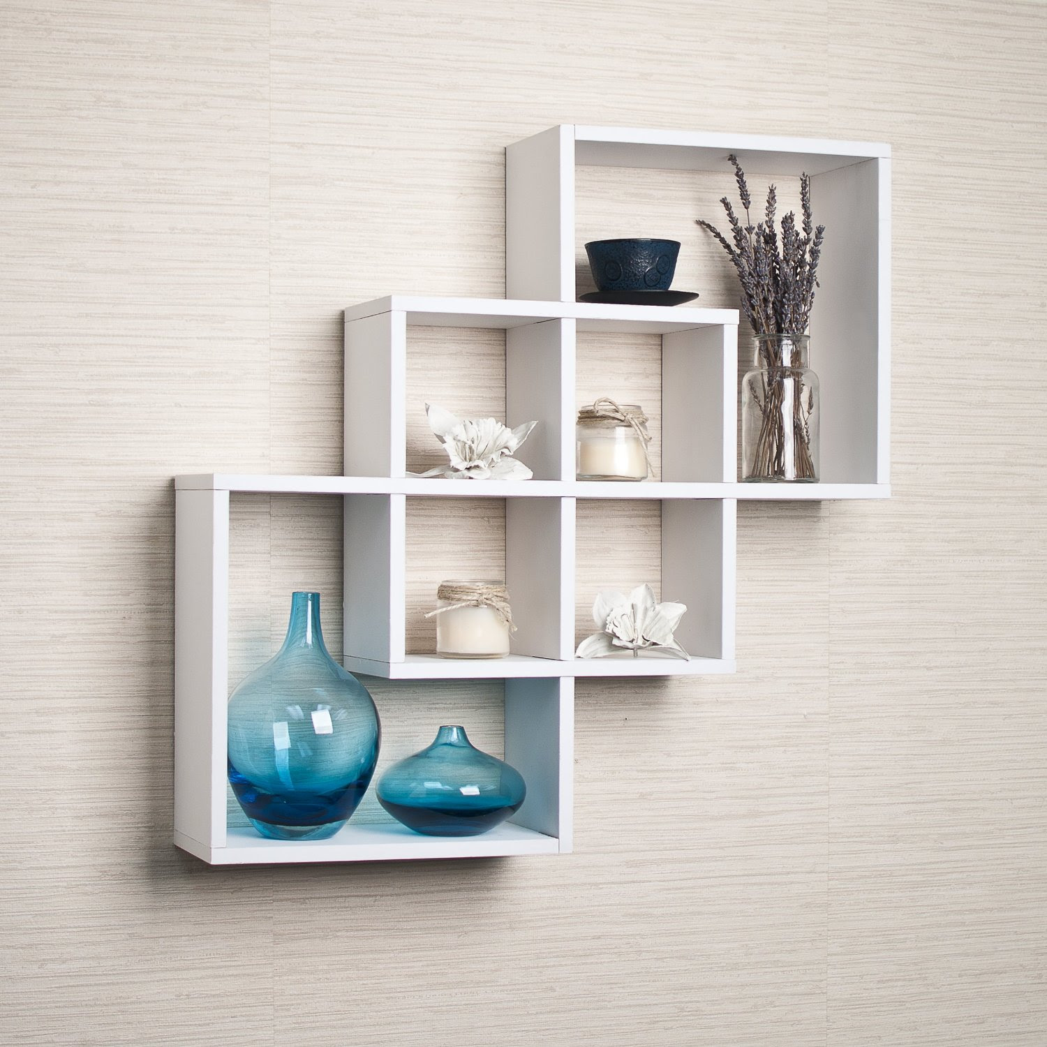 intersecting_white_floating_shelf