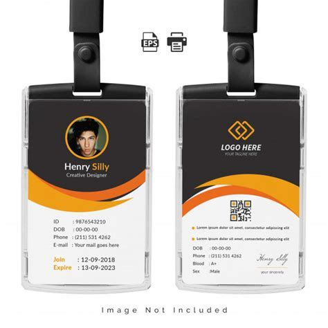 Id Card Vectors, Photos and PSD files   Free Download
