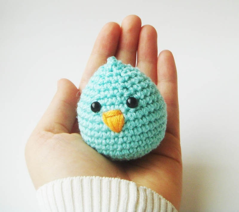 mint baby chick