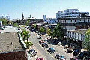University Avenue in Charlottetown, Prince Edw...