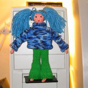 Malvina with raglan sweater