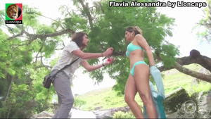 Flavia Alessandra sensual na novela Segundo Sol