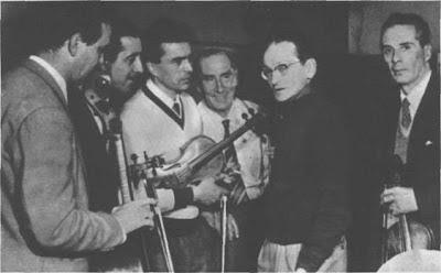 Osvaldo Pugliese en Rusia en 1959