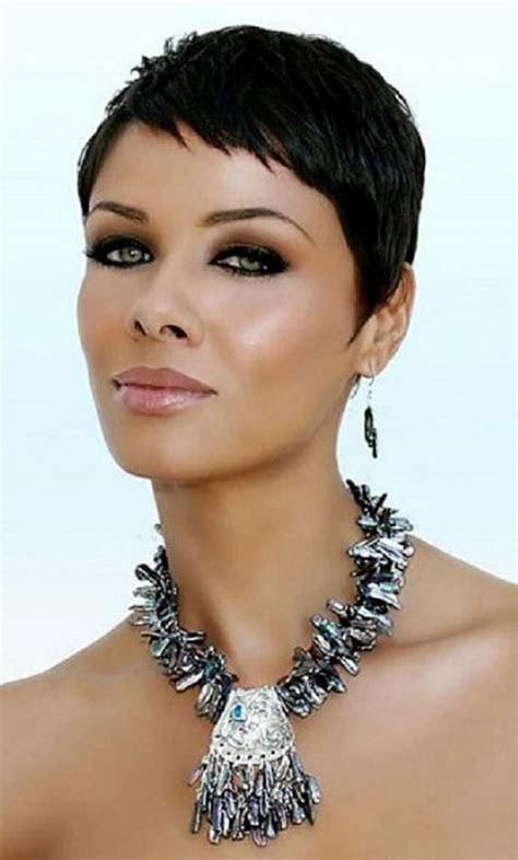 amazing pixie haircuts  black women