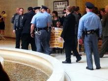Barber arrested at General Assembly