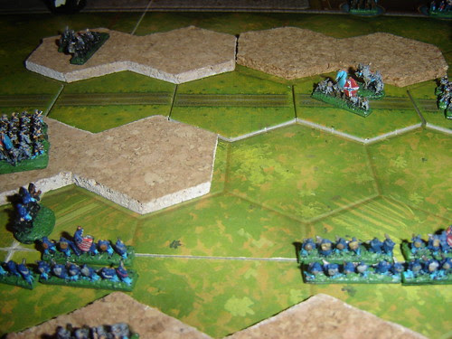 Union assault decisive and strong Confederate riposte unable to save the battle