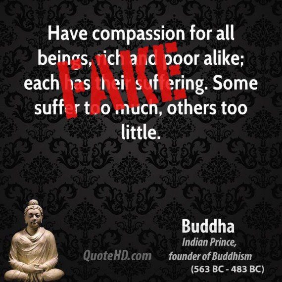 Have Compassion For All Beings Rich And Poor Alike Each Has Their