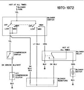 1972 Other Chevrolet Models WIRING DIAGRAM: Electrical ...