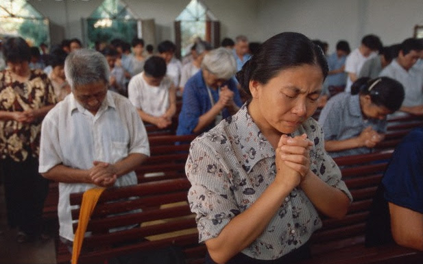 Image result for christians in china