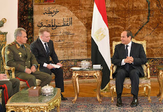 Russia Has Signed A Draft Agreement With Egypt To Use Its' Airbases And Airspace