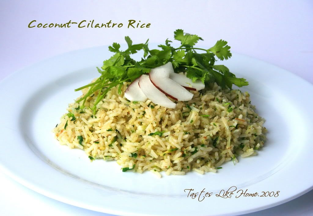 Coconut-Cilantro Rice
