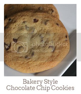 """""""Bakery Style Chocolate Chip Cookies"""""""