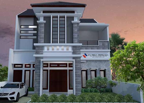 80 Desain Rumah Minimalis 2 Lantai 6x15 Terbaru 10 Desain Rumah Minimalis