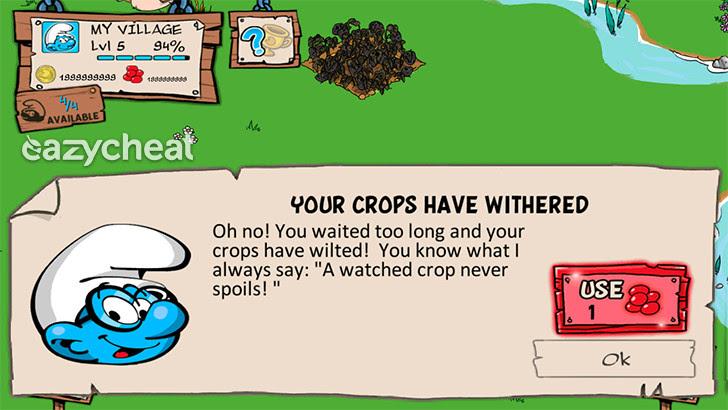 Smurfs' Village v1.7.4a Cheats