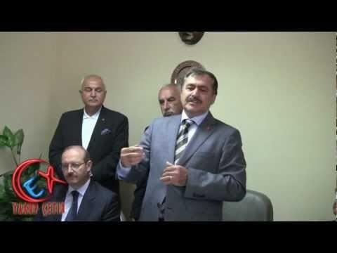 Bozkır Ak Parti Teşkilatı Konuşması - Orman ve Su İşleri Bakanı Veysel Eroğlu Bozkır'da