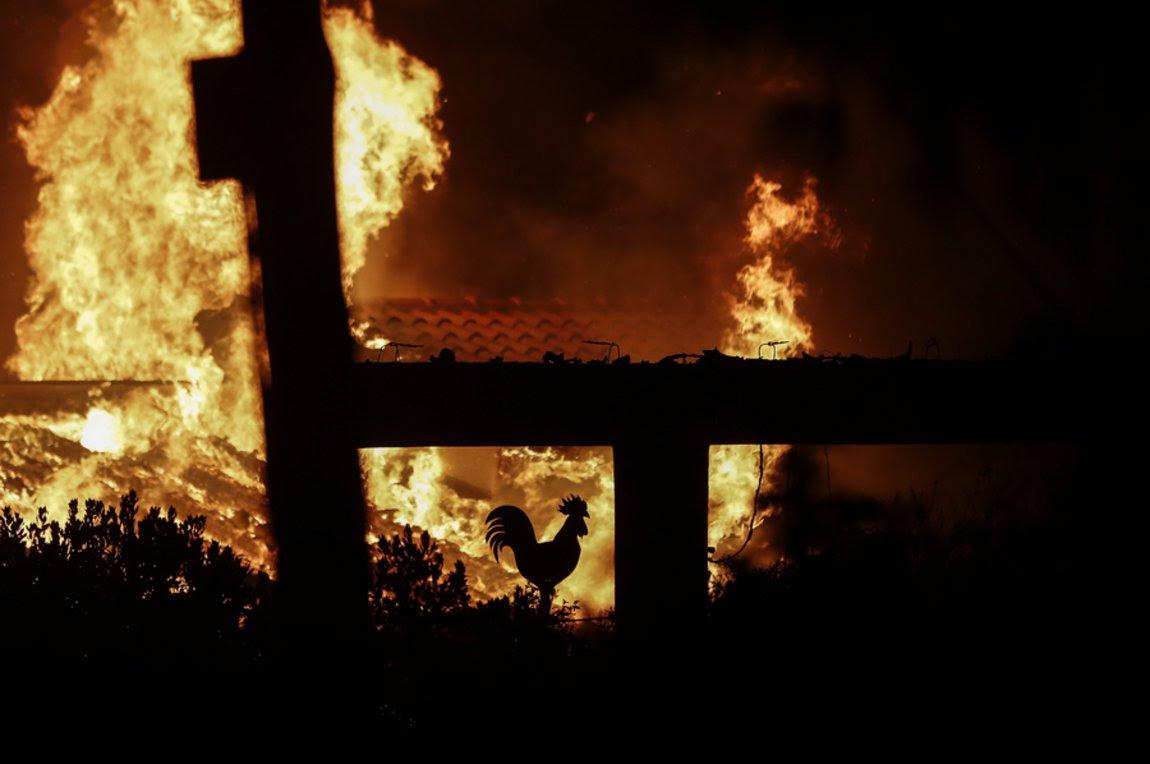Αποτέλεσμα εικόνας για πυρκαγια αττικη ματι