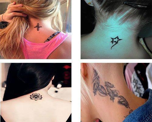 Tatuajes Para Mujeres En La Nuca Tatuajesparacom