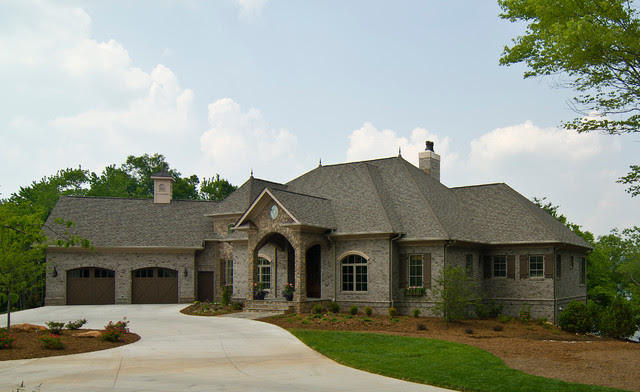 French Country  Traditional  Exterior  charlotte  by Pippin Home Designs, Inc