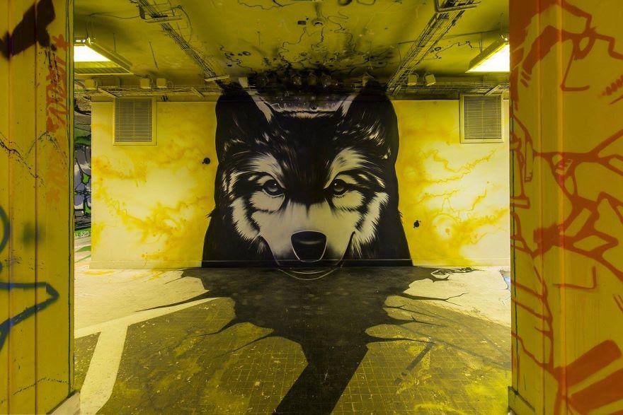 Σχολείο ζήτησε από 100 street artists να το βάψουν πριν ανακαινιστεί και το αποτέλεσμα είναι απίστευτο (16)