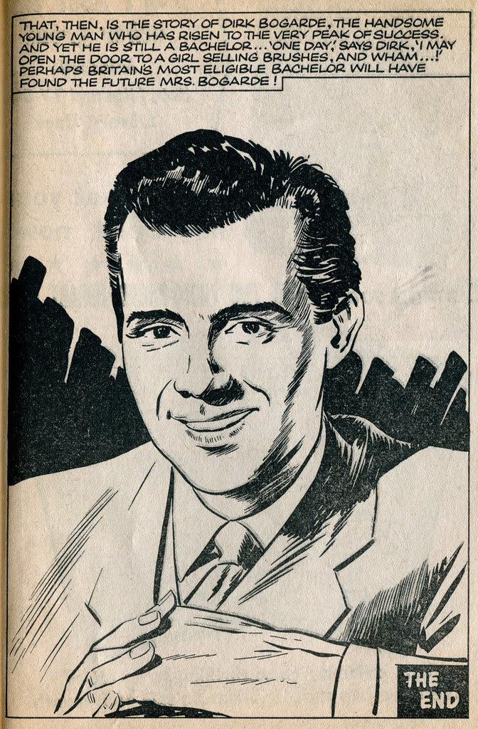 Dirk Bogarde comic 22
