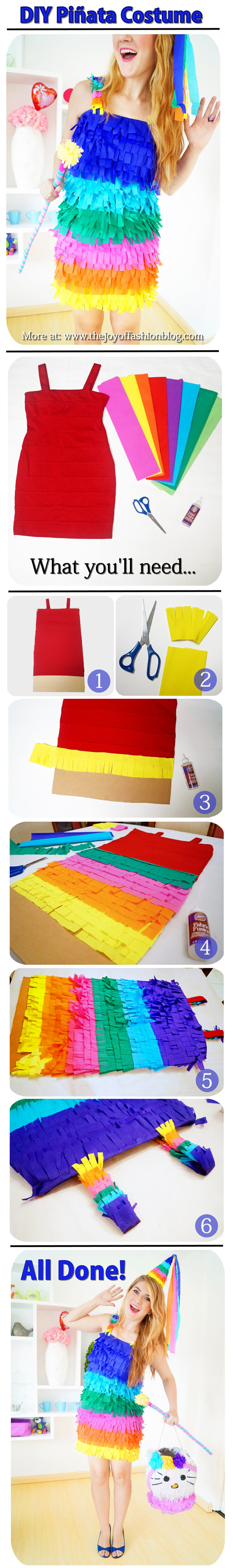 Piñata Costume Tutorial