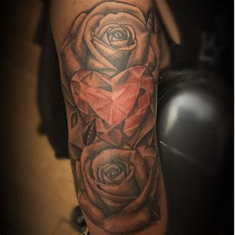 rose diamond rose rosetattoo diamond tattoos