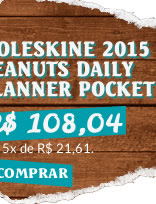 MOLESKINE 2015 PEANUTS DAILY PLANNER POCKET WHITE