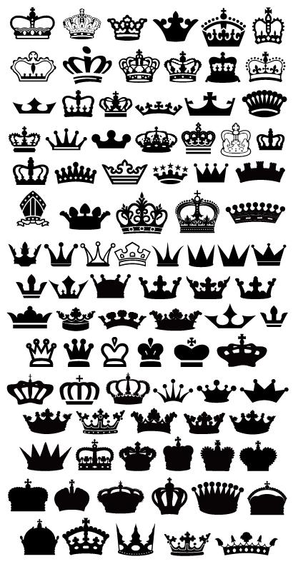王冠アイコン90種aieps ベクタークラブイラストレーター素材が無料