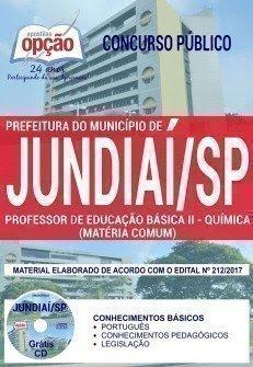 apostila Professor de Educação Básica II Prefeitura de Jundiaí 2017