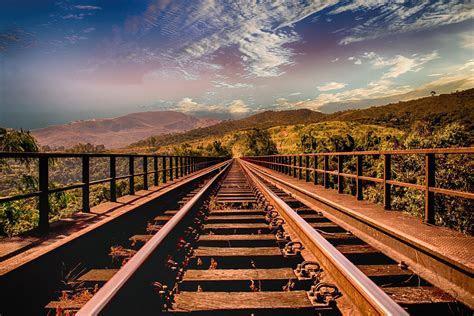 Fondo de Pantalla de Vías, Camino, Tren, Ferrocarril