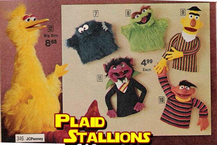 Sesame Street Puppets