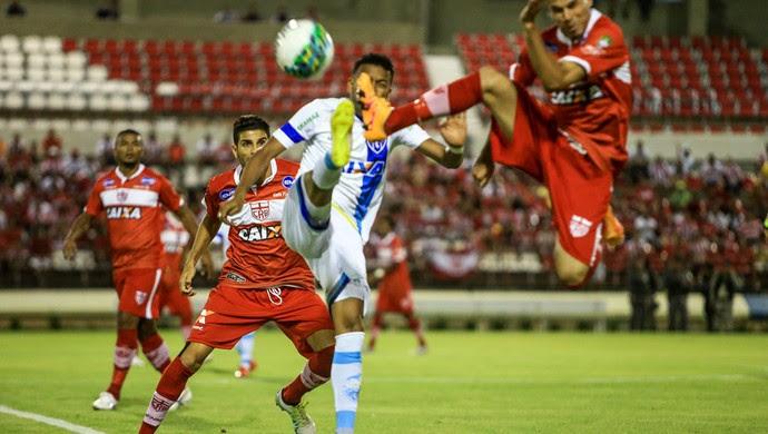 CRB x Paysandu, no Rei Pelé (Foto: Ailton Cruz / Gazeta de Alagoas)