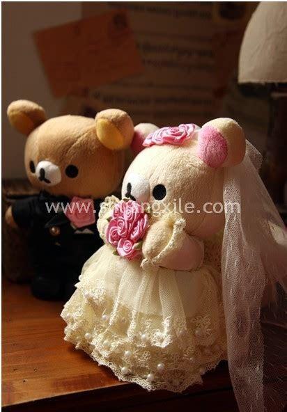 Rilakkuma Wedding Bear   Wedding Plush Toys   Wedding