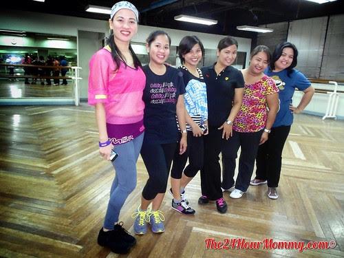 2013-03-18 Zumba at JNA Dance Center