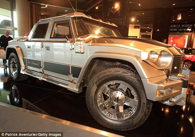 Kanye Wests Armoured Car in Pictures  News Ghana