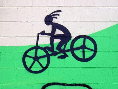 Anasazi bike mural