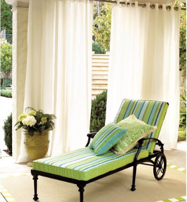 Indoor/Outdoor Curtains - traditional - outdoor decor - by Ballard